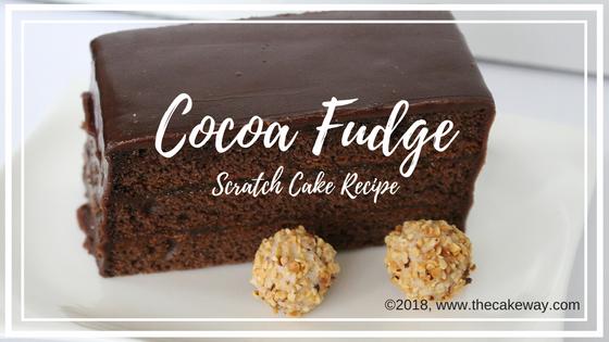 Cocoa Fudge Cake Recipe #recipes #cakeway #delicious #yummy #cakes