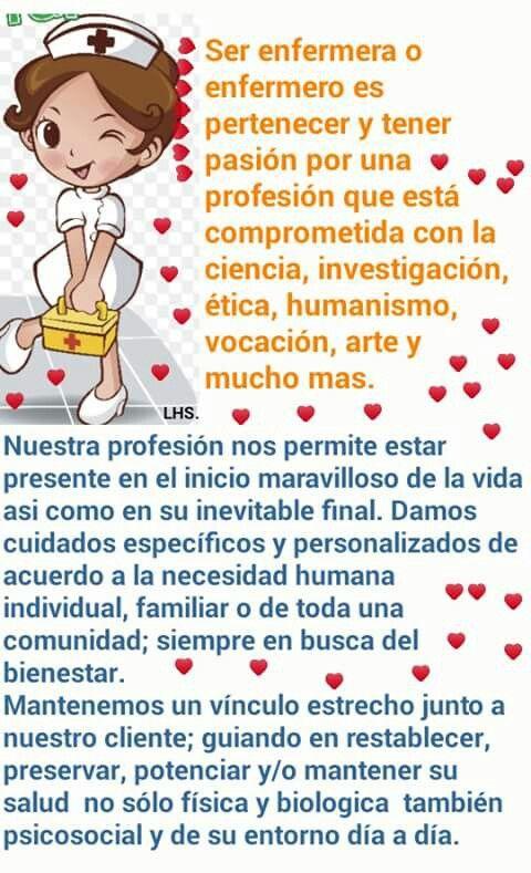 Ser Enfermera Dia De La Enfermera Feliz Dia Enfermera Y