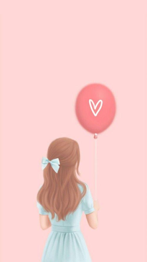 Enakei, art, art girl, background, beautiful, beautiful girl, beauty, cartoon, cute art, design, drawing, Enakei, fashion, girl, illustration, illustration girl, iphone, pastel, pink, sweet girl, wallpapers, we heart it, pink background, lovely girl, beau