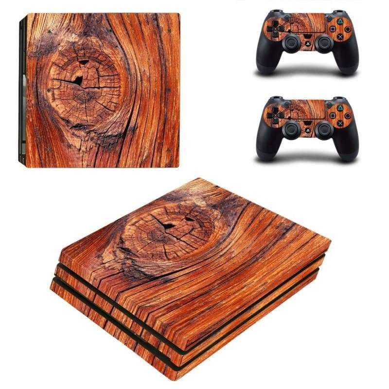 9bd8365ed16e3 Wooden board PS4 pro Skin in 2019 | Products | Playstation, Ps4, Ps4 ...