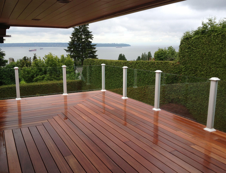 Red Balau Batu Decking Supplied By Kayu Canada Located In Vancouver Bc Work Done By West Coast Tur Deck Design Deck Designs Backyard Backyard Patio Designs