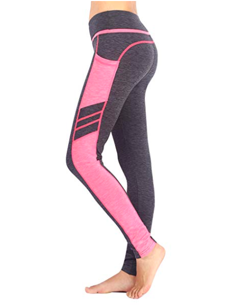 e10d52051feb6 I love workout leggings with cell phone pockets! Women's Workout Leggings, Running  Tights, Yoga Pants, athletic clothes, #ad