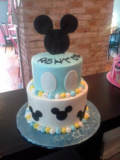 Mickey Mouse Baby Shower Cake Baby Showers Pinterest Mickey