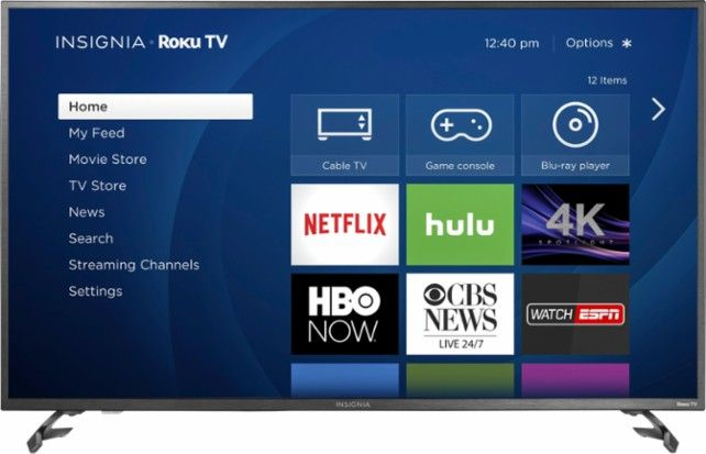 Best Buy 50 Class Led 2160p Smart 4k Uhd Tv With Hdr Roku Tv Ns 50dr620na18 Cool Things To Buy 4k Ultra Hd Tvs Uhd Tv