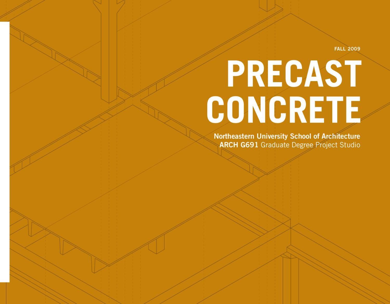 Precast Concrete | Material & techniques | Pinterest | Precast ...