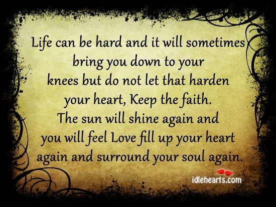 Life Can Be Hard And It Will Sometimes Bring You Down Friendship Quotes Negative Friendship Life Quotes