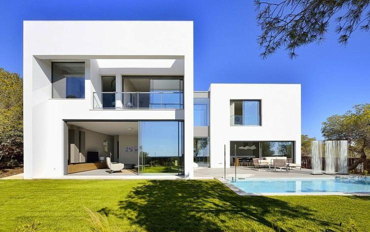 Maison d architecte sous le soleil du beau sud espagnole alicante et bois - Architecte maison de luxe ...