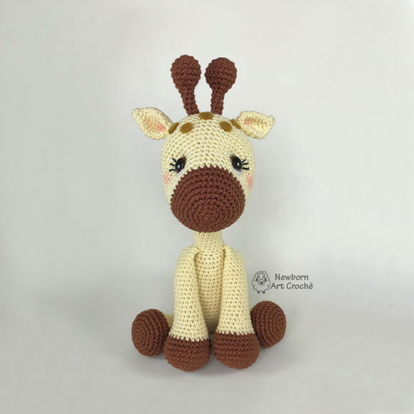 Amigurumi Girafa - Crochê no Elo7 | Lolo Bunny (AD8534) | 580x580