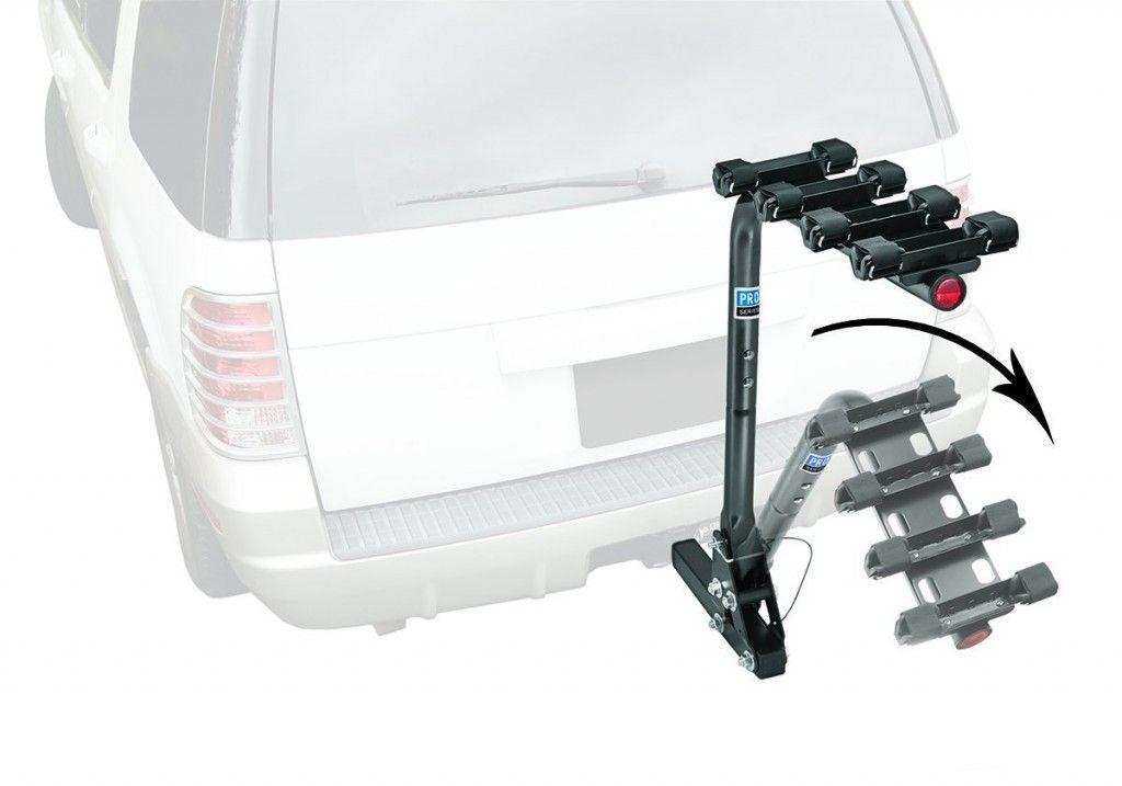 Pro Series 63124 Eclipse Black 4 Bike Carrier Review 4 Bike Carrier Bike Hitch Mount Bike Rack