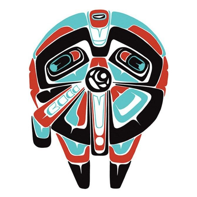 Série mistura Star Wars e arte indígena