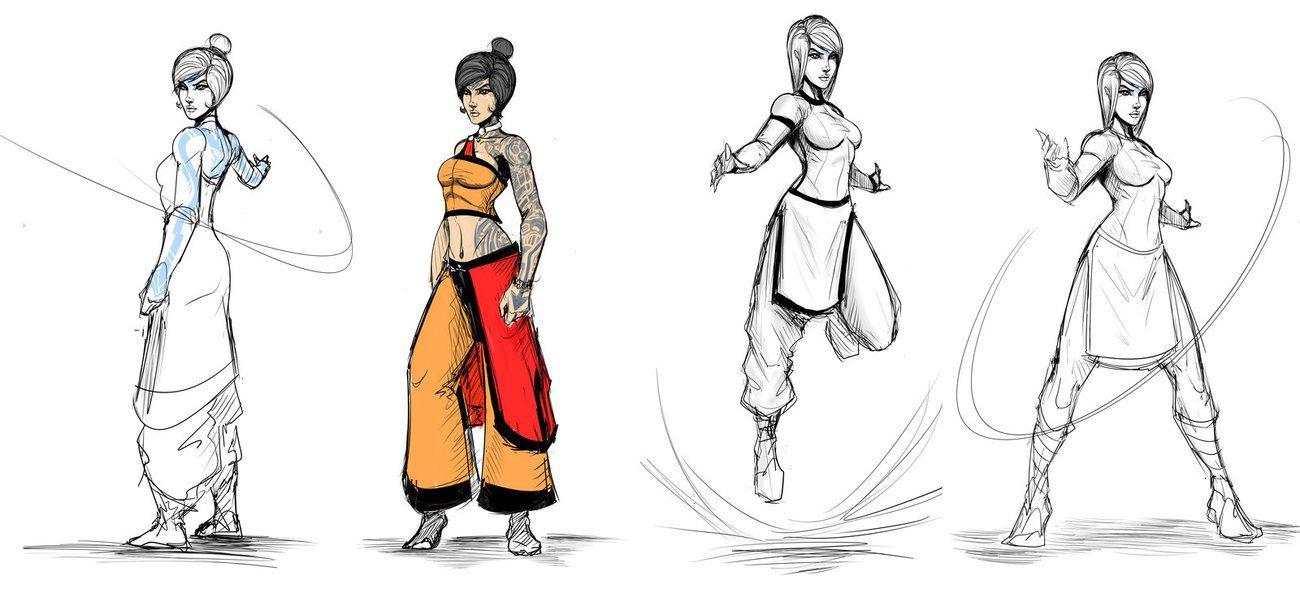 Adult Jinora Alts by Sketchydeez on deviantART | Avatar ...