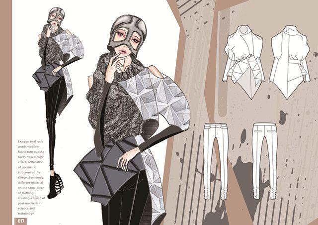 3rd Year Student Works Bachelor Fashion Design Technology Ifa Fashion Illustration Portfolio Fashion Design Sketchbook Fashion Portfolio Layout
