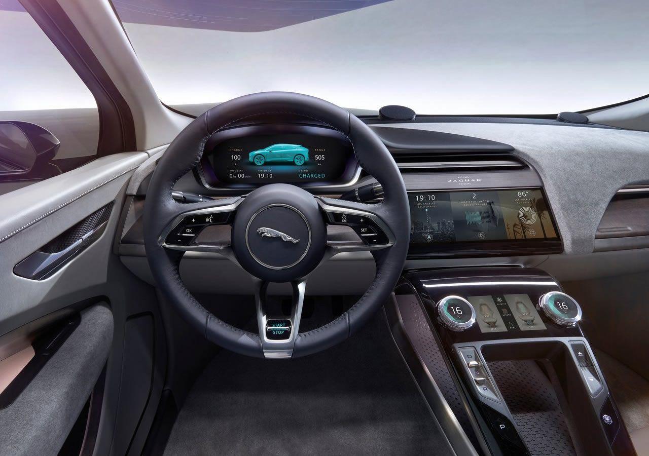 2017 Yeni Jaguar I Pace Jaguar Ipace Suv Electriccar Jaguar Otomobil Teknik