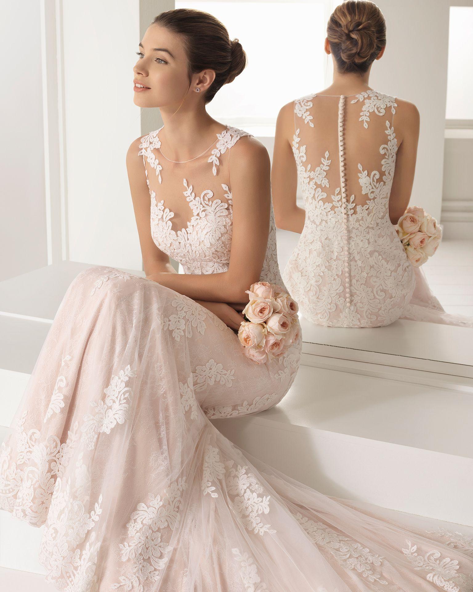 Vestidos de novia tipo romantico