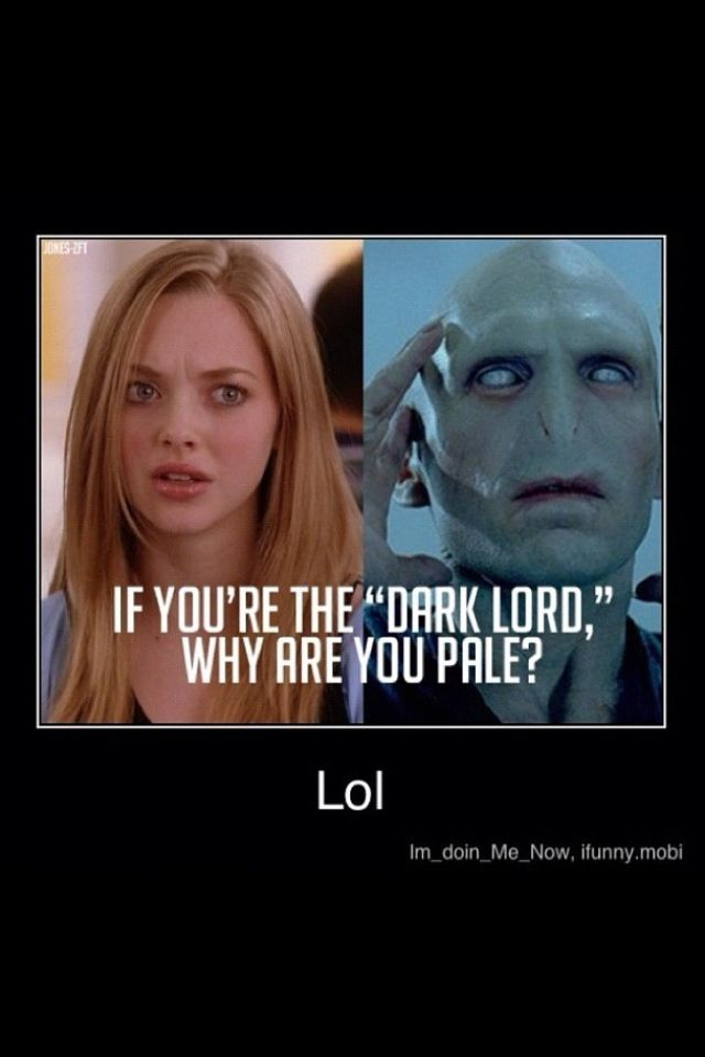 Mean girls AND Harry potter!? Yesssss   Harry potter funny