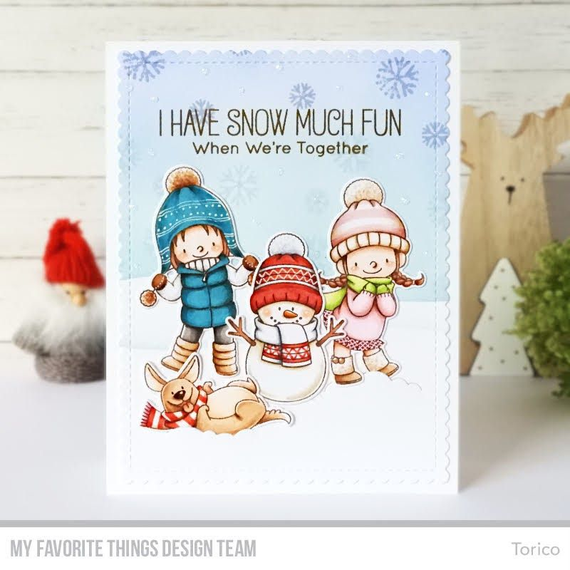 Snow Much Fun MFT November Release Countdown Begins! in
