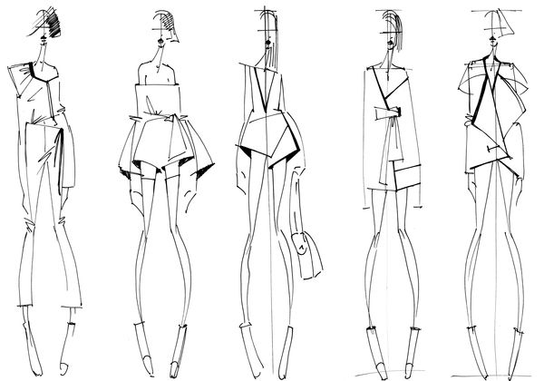 Photo of Fashion Illustrations – Collections