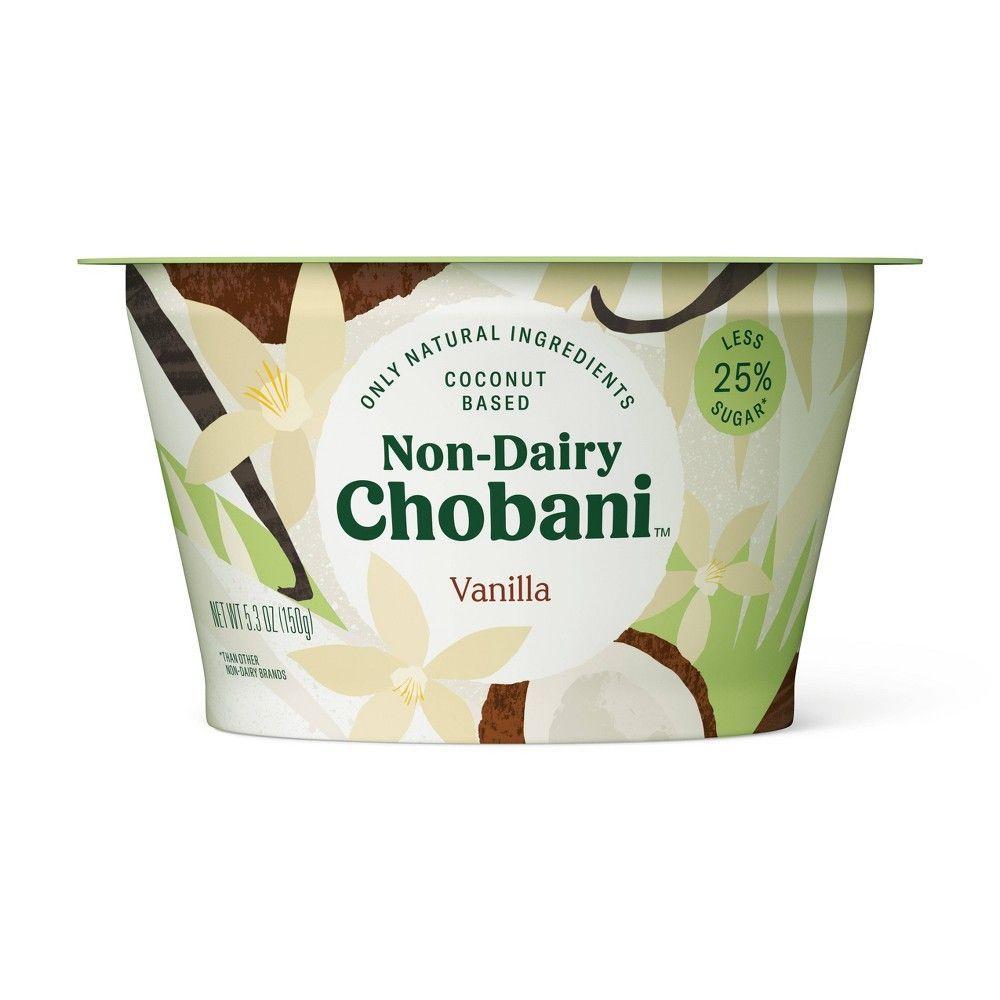 Chobani dairyfree vanilla yogurt 53oz yogurt brands