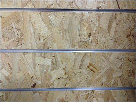 Particle Board Slatwall Looks Good Fixtures Close Up Slat Wall Particle Board Slat Wall Display