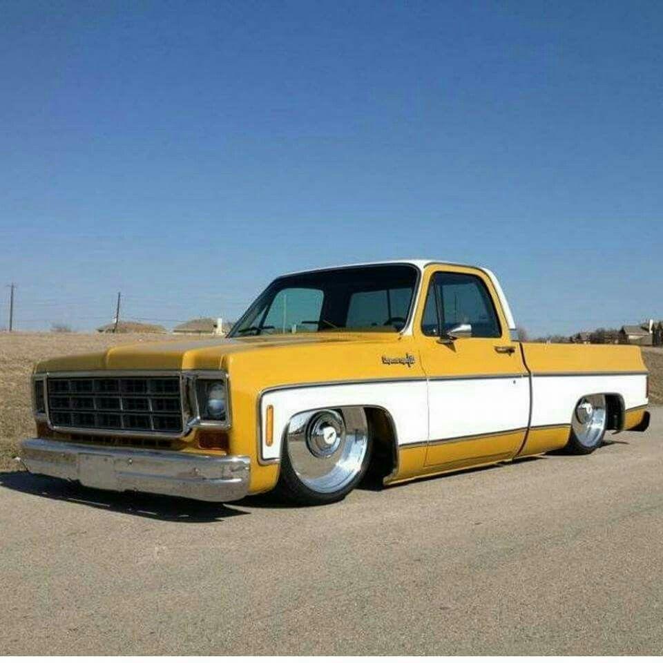 Pin by M Chandler on 73-87 Lowered C10 | Pinterest | GMC Trucks
