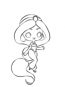 How to Draw Chibi Disney Princess