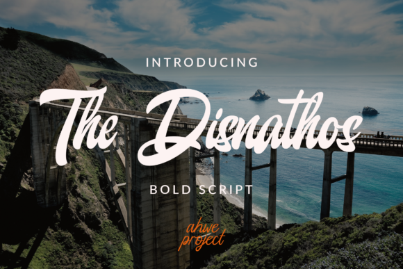 The Disnathos Font By Ahweproject Creative Fabrica In 2020 Script New Fonts Latest Fonts
