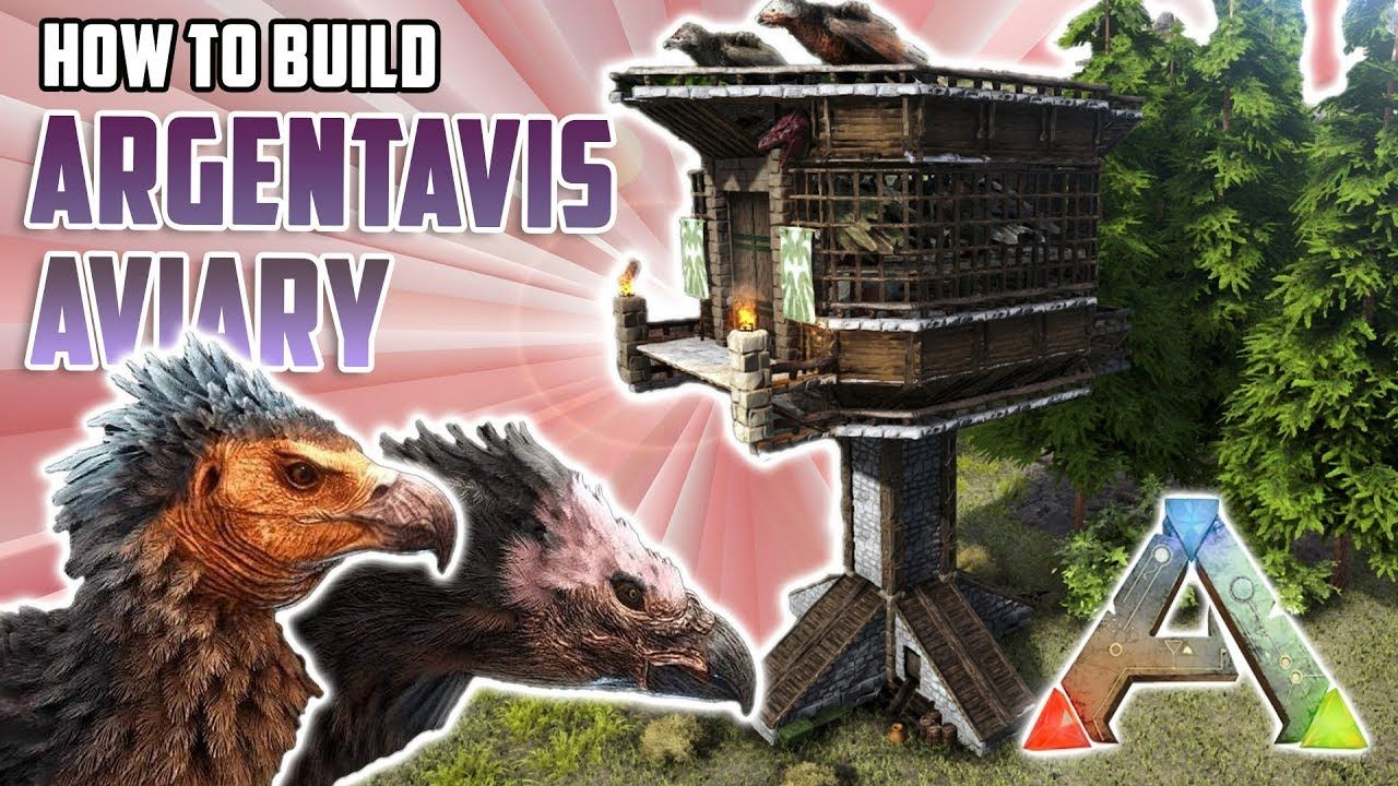 How To Build An Argentavis Aviary Ark Survival Evolved Ark