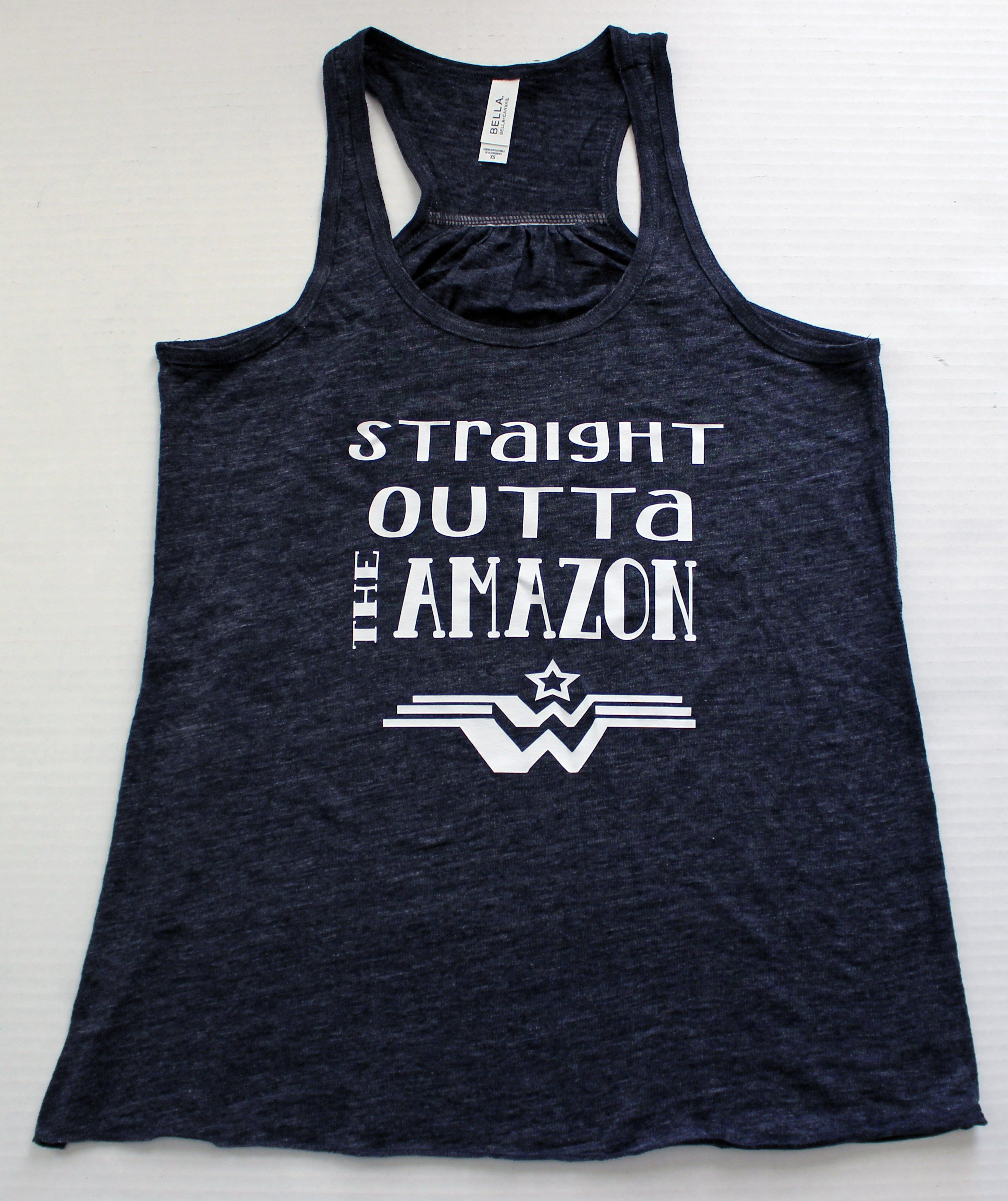 dbf5ef3d0 straight outta the Amazon - tank and shirt   Products   Racerback ...