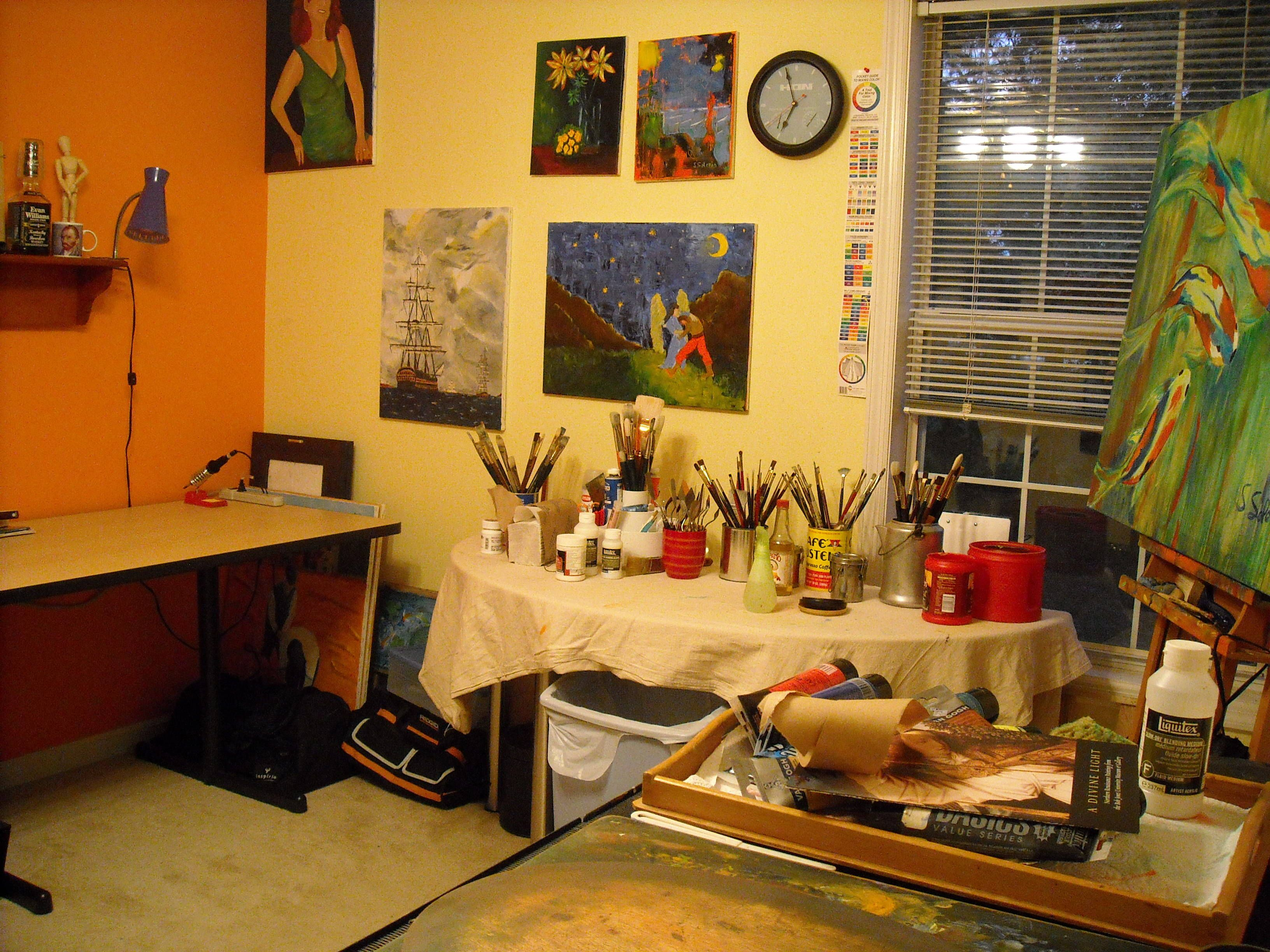 Acrylic Paint Drying Times by Brand