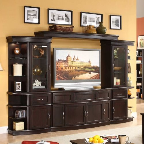 Lamar 4 Piece Entertainment Wall Unit With 60 In Tv