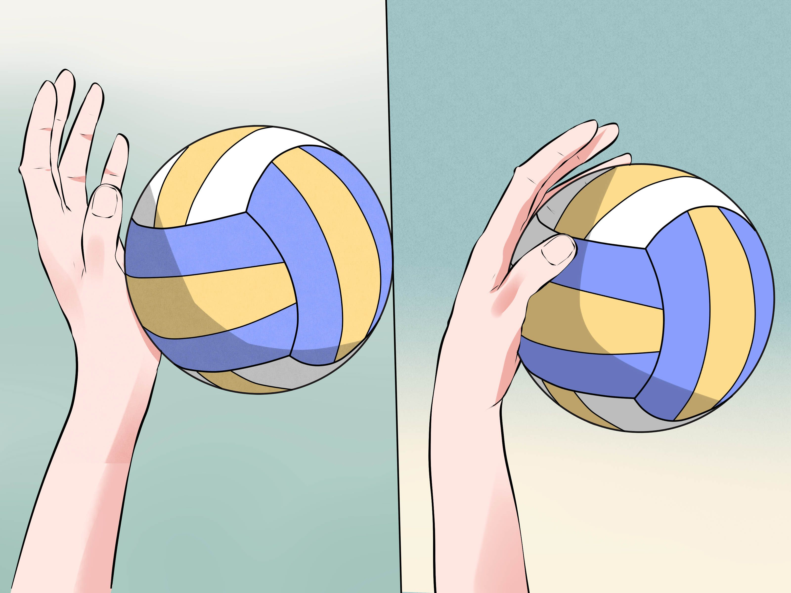 How To Serve A Volleyball Volleyball Rules Volleyball Tips Volleyball Workouts