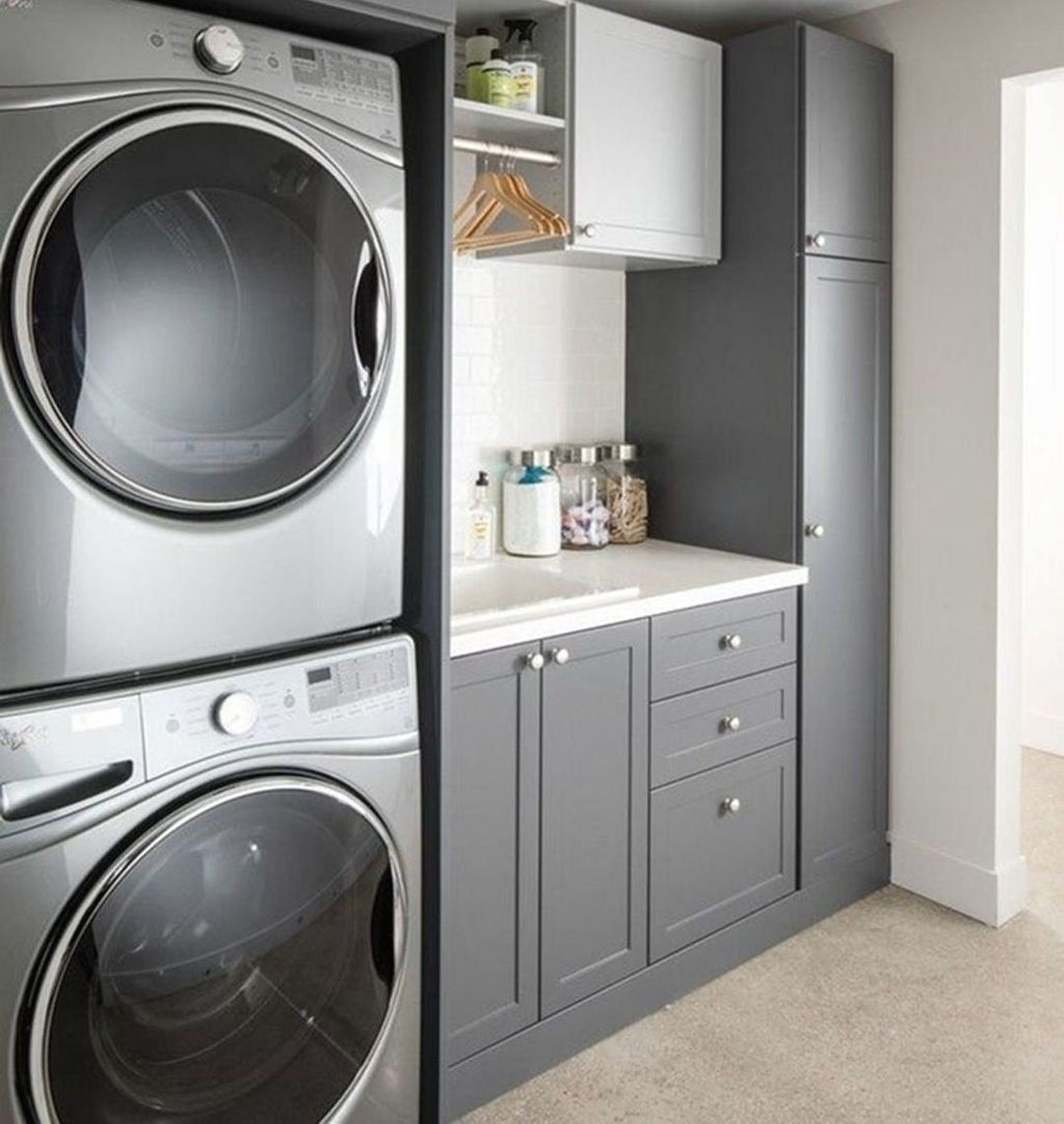 20 wonderful laundry room decorating ideas for small on extraordinary small laundry room design and decorating ideas modest laundry space id=62924