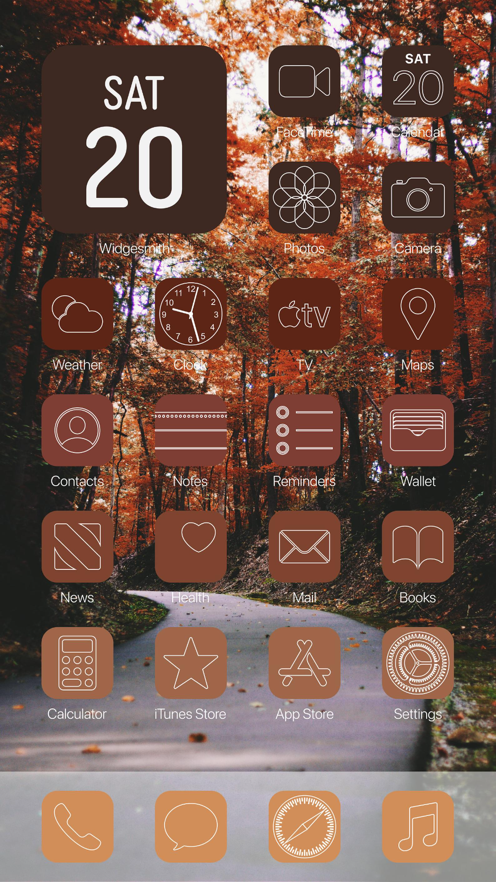 Aesthetic Fall Ios 14 App Icons Pack 72 Icons 10 Colors Fall App Icons Aesthetic Ios Home Screen Pack In 2020 App Icon Ios App Icon Icon Pack