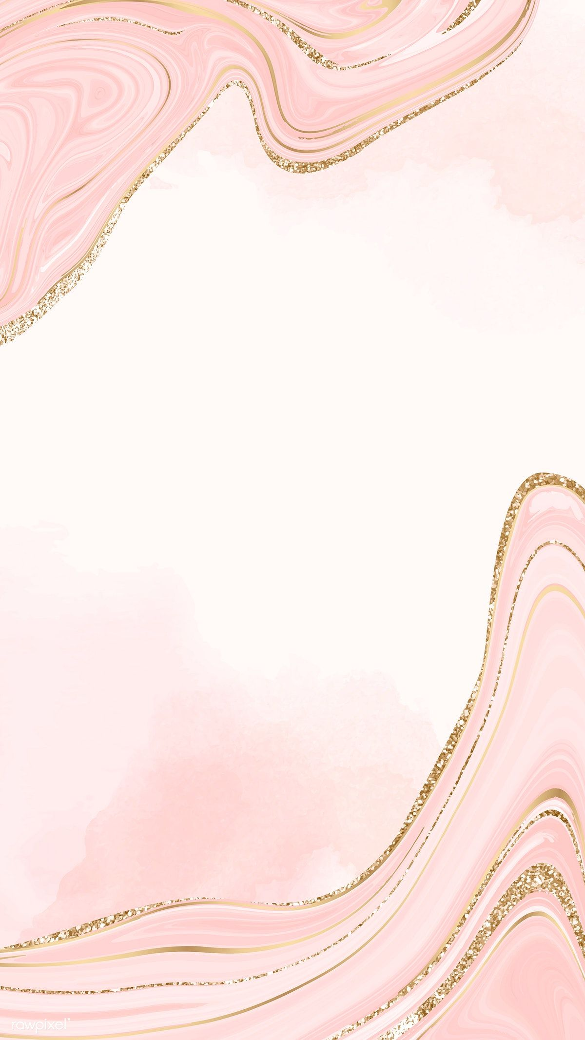 Download Premium Vector Of Gold And Pink Fluid Patterned Mobile Phone Marble Wallpaper Phone Gold Wallpaper Iphone Pink And Gold Wallpaper