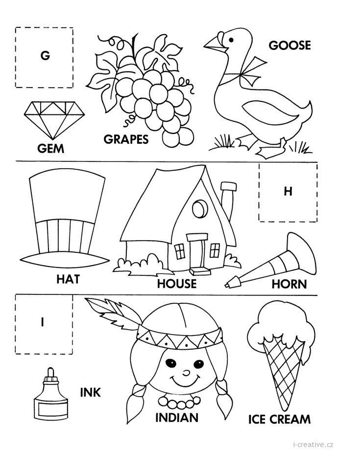 Pracovni Listy Anglictina Pro Deti I Creative Cz Kreativni