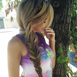 cute style and hair color