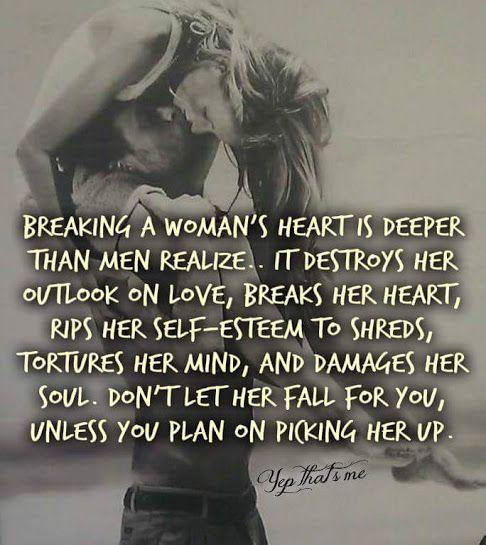 Photo: BREAKING A WOMAN'S HEAR...