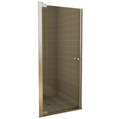 Keystone by MAAX - Insight Pivot Shower Door 24 1/2 - 26 1/2 Inches ...
