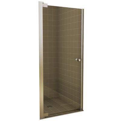 Keystone By Maax Insight Pivot Shower Door 24 1 2 26 1 2 Inches 105419 900 084 000 Home Depot 219 Shower Doors Glass Shower Doors Home