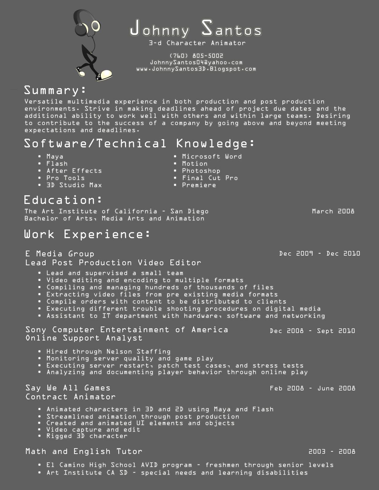 animator resume design print pinterest design market and