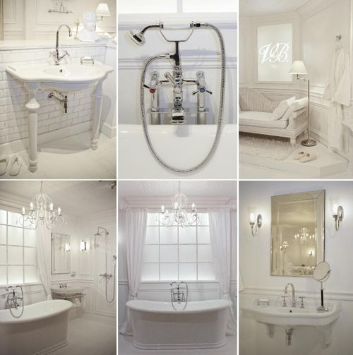 Clean, white, classy. loving the luxury and a