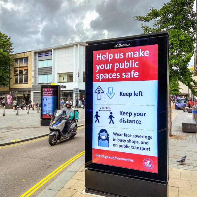 Keep public areas safe by Tim Constable in 2020 Public