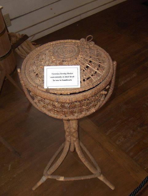 Victorian Sewing Basket