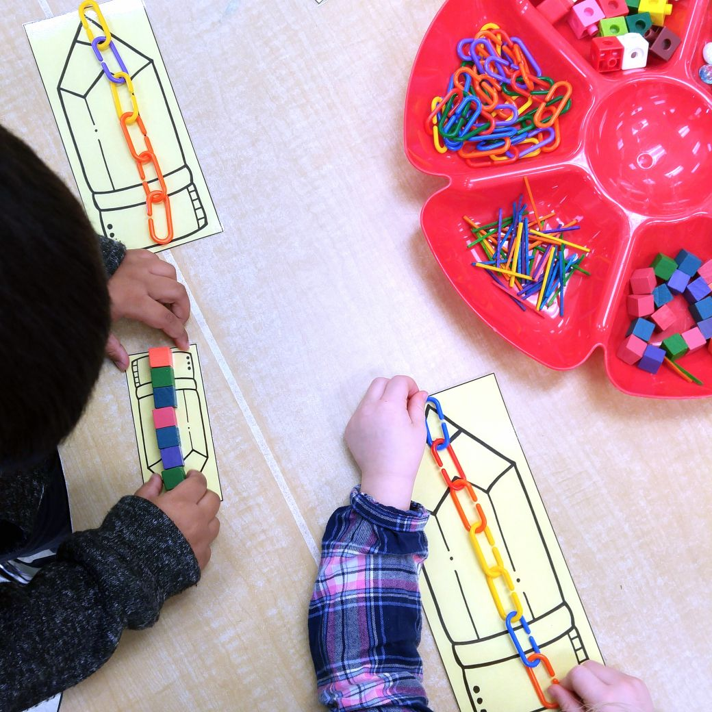 Easy Print And Prep Kindergarten Math Centers Measurement