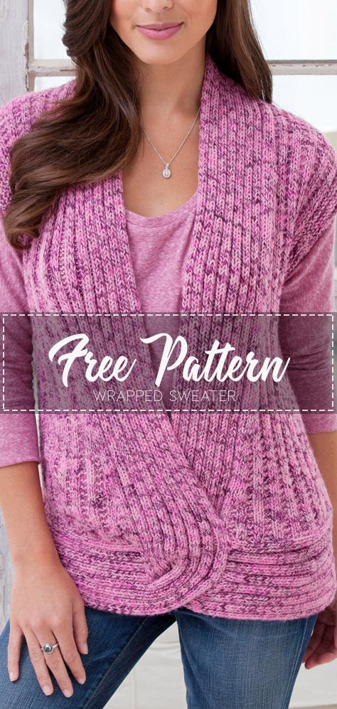 TWIST VEST - Pattern Free - Easy Crochet in 2020 | Knit ...