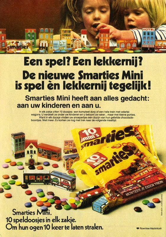 smarties in leuke doosjes! - I remember...   Pinterest ... Smarties Verpakking