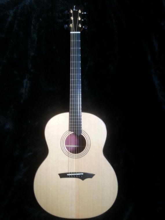 Handmade Acoustic Guitar Quot Purple Heart Quot Acoustic Guitar Guitars For Sale Acoustic Guitar For Sale