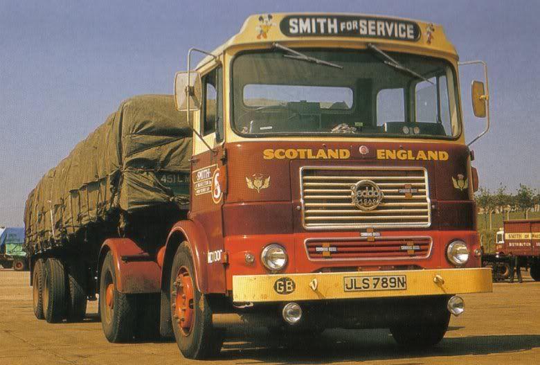 Pin On Scottish Trucks