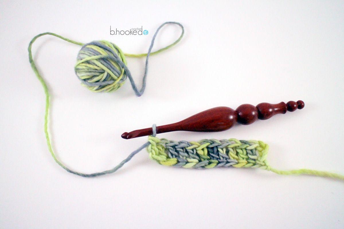 How To: Foundation Crochet Stitches   Punto de crochet y Puntos