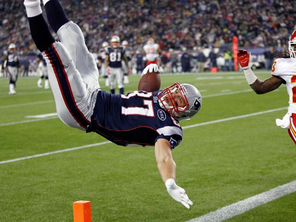 Top Images from the 2011 Season Gronkowski, Football is